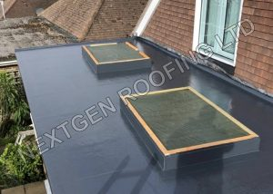 Extension GRP Flat Roof Replacement in Brighton by NextGen Roofing Ltd - Roofing Contractors in Sussex