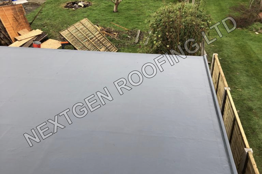 GRP Flat Roof Replacement in Ferring November 2020 by NextGen Roofing Ltd - Roofing Contractors in Sussex
