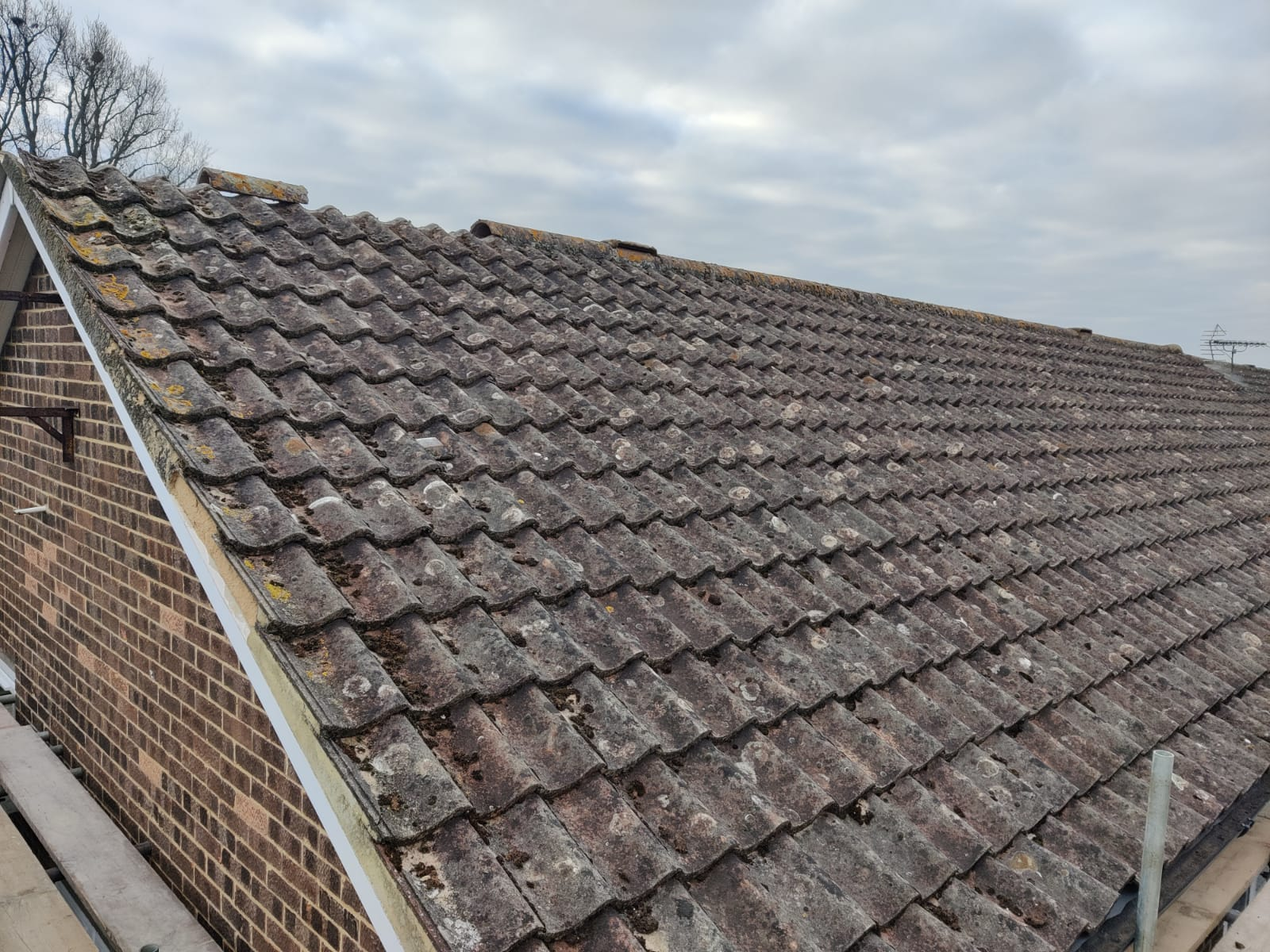 New Batten & Mortar Stripe & Retile Existing Tiles in Horsham by Next Gen Roofing Ltd - Roofing Contractors in Sussex