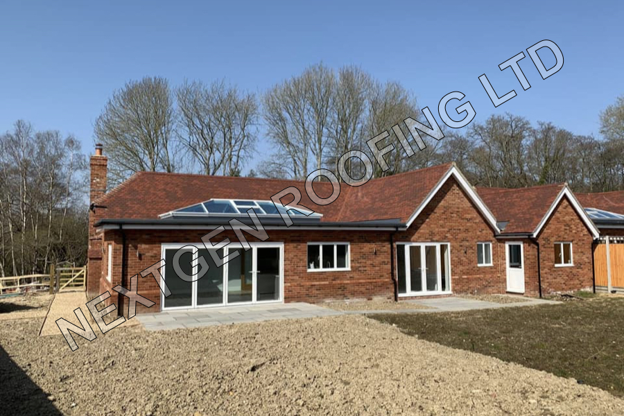 New Build Pitched Roof Installations in West Chiltington March 2020 by NextGen Roofing Ltd - Roofing Contractors in Sussex