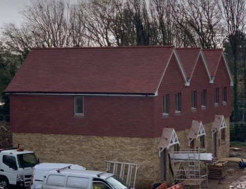 Rosemary Plain Tile Pitched Roof Installations on 15 New Build Homes in Angmering October 2020