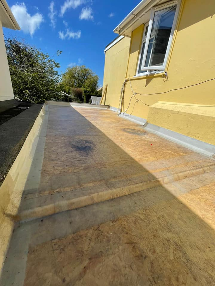 GRP Flat Roof Replacement in Worthing May 2021 by NextGen Roofing Ltd - Roofing Contractors in Sussex