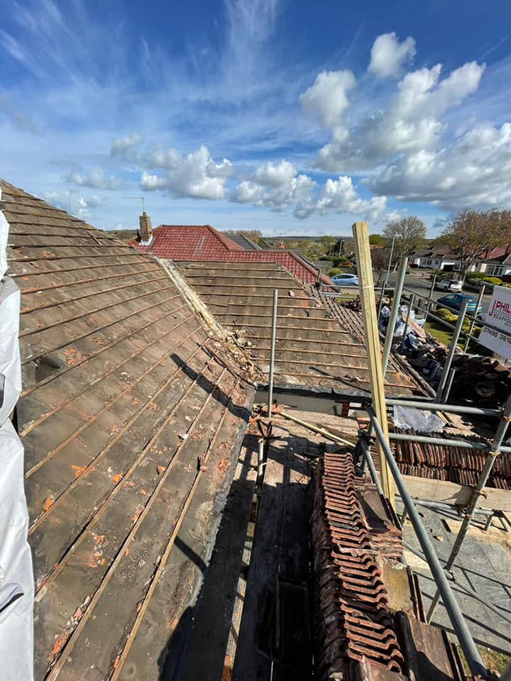 Tiled Roof Replacement in Worthing May 2021 by NextGen Roofing Ltd - Roofing Contractors in Sussex
